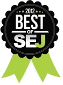 Best of Search Engine Journal 2012 Badge
