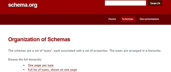 Semantic Markup: Use Schema.org as a resource