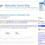 Google Webmaster Tools More Detailed Search Query Data January 2014