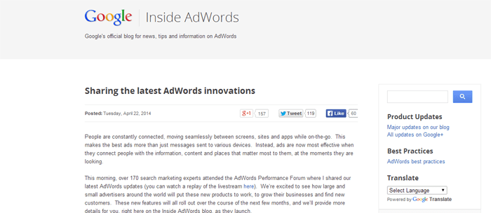 SEM Google AdWords Enhanced Campaigns New Features