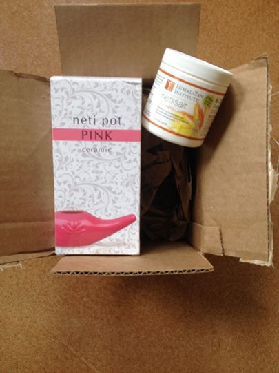 Unboxing the Pink Neti