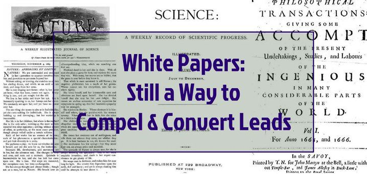 White Papers Still Compel and Convert Leads