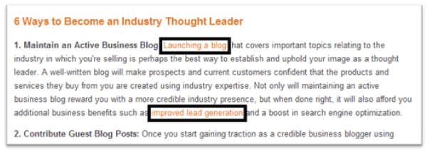 Internal Linking HubSpot On Page Tips