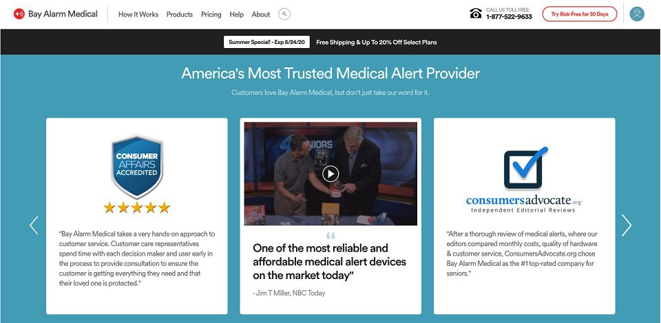 Brand Trust in eCommerce: Manage Social Image - Medical Alert Example